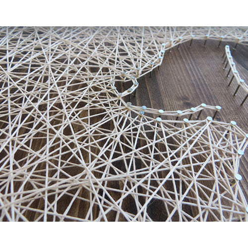 The Importance of High-Quality Materials for String Art