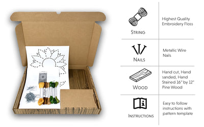 Sunflower String Art Kit
