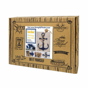 Anchor String Art Kit with Rope - String of the Art