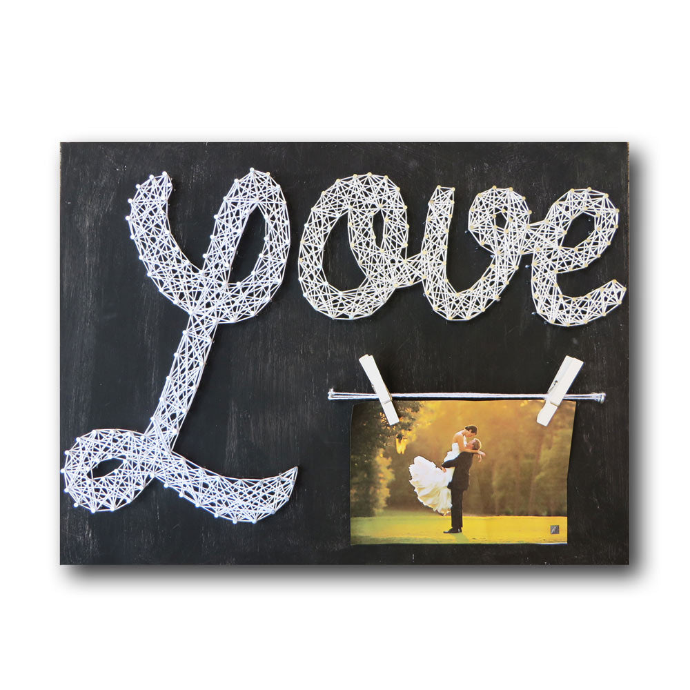 Love Picture Frame String Art Kit