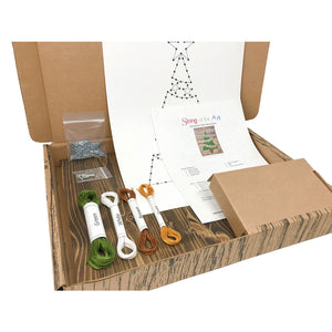 Christmas Tree String Art Kit