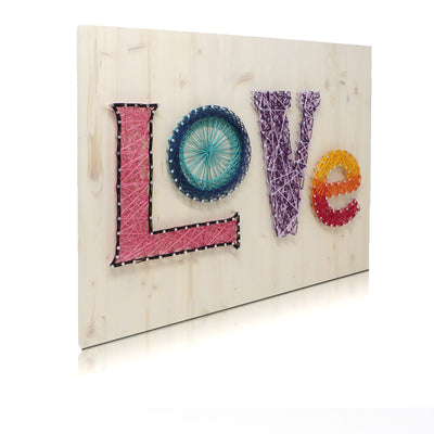Colorful Love String Art Kit