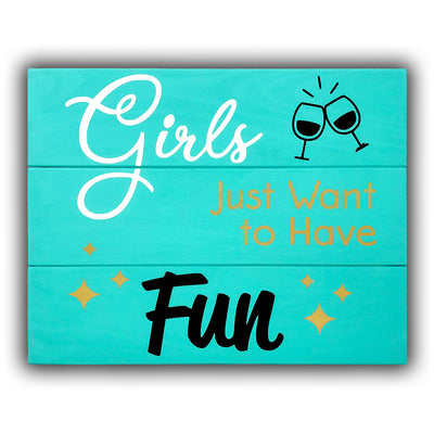 Girls Just Want to Have Fun Painting Kit