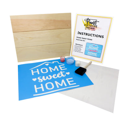 Home Sweet Home Painting Kit