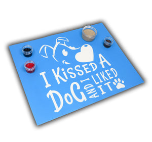 I Kissed A Dog Painting Kit