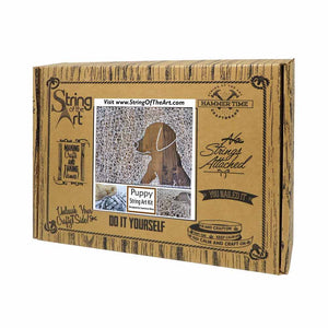 Inverse Puppy String Art Kit - String of the Art