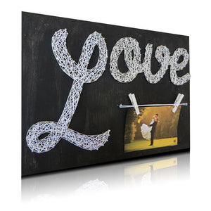 Love Picture Frame String Art Kit - String of the Art