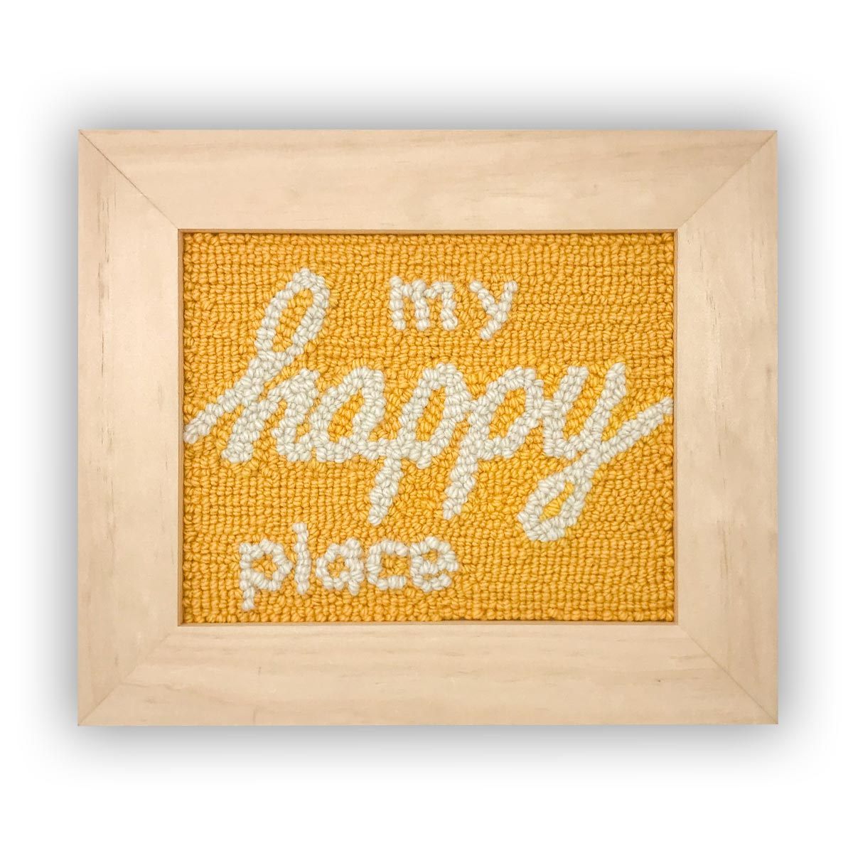 My Happy Place Punch Needle Kit