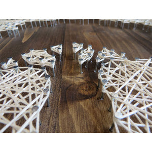 Inverse Oak Tree String Art Kit - String of the Art