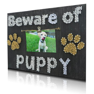 Puppy Picture Frame Kit - String of the Art
