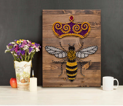 Queen Bee String Art Kit