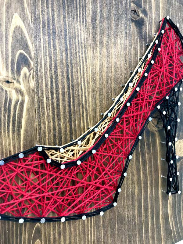 Red High Heel Mini String of the Art Kit - String of the Art