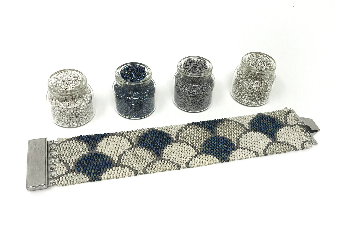 Silver Scales Beading Kit