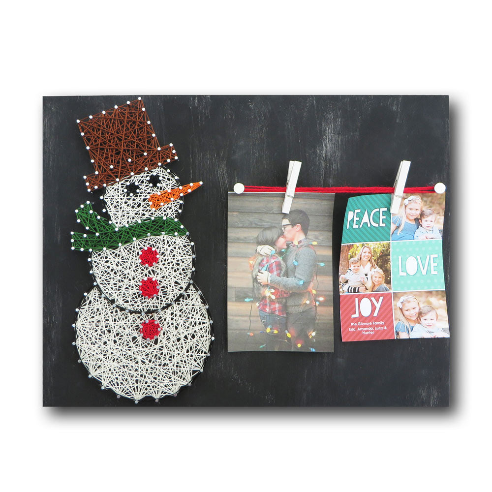 Snowman Picture Frame Kit