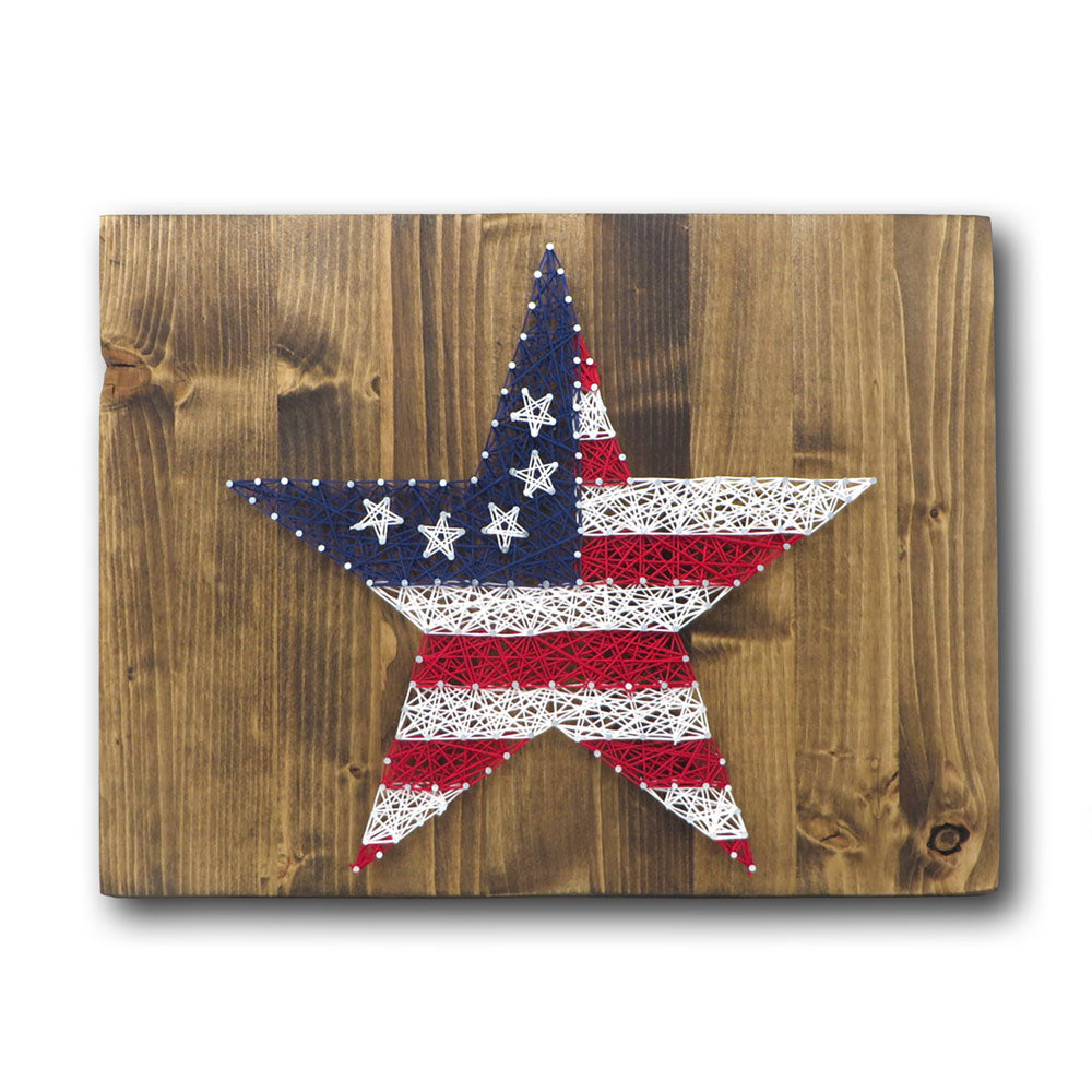 Stars and Stripes String Art Kit