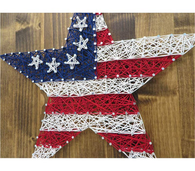 Stars and Stripes String Art Kit - String of the Art