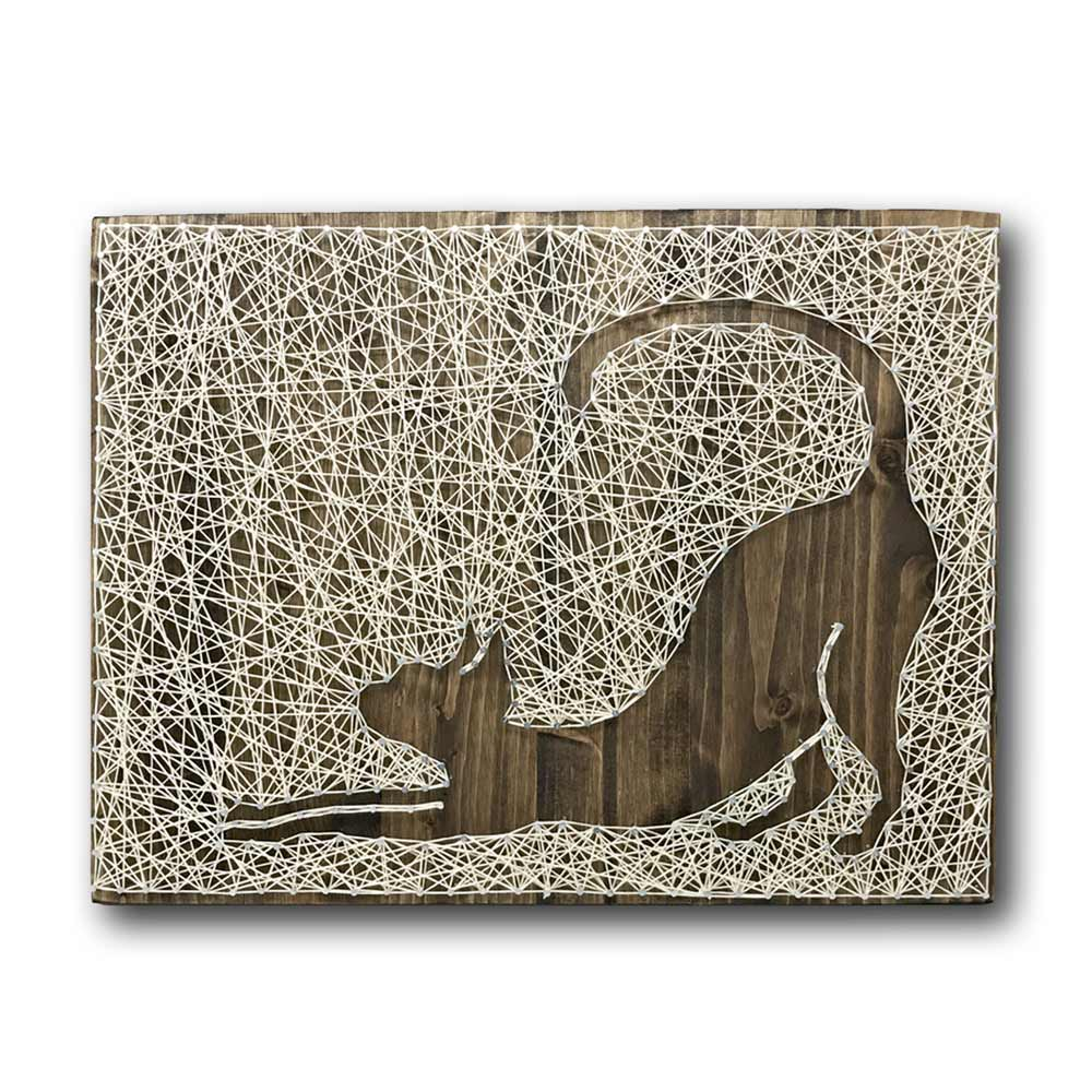 Stretching Cat String Art Kit