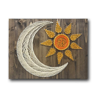 Sun and Moon String Art Kit