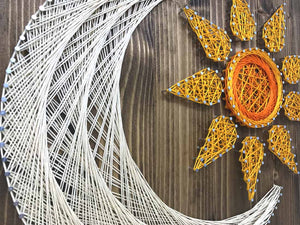 Sun and Moon String Art Kit - String of the Art