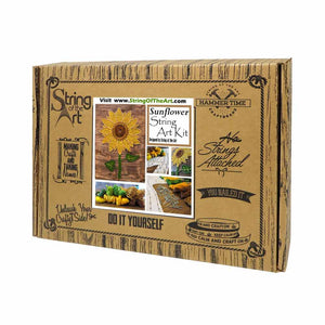 Sunflower String Art Kit - String of the Art