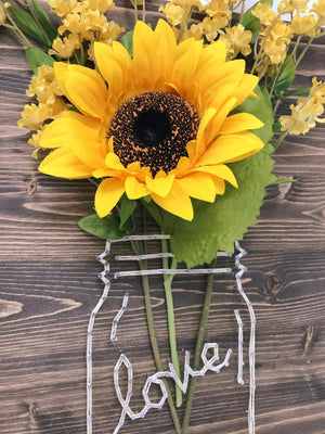 Sunflower Jar String Art Kit - String of the Art