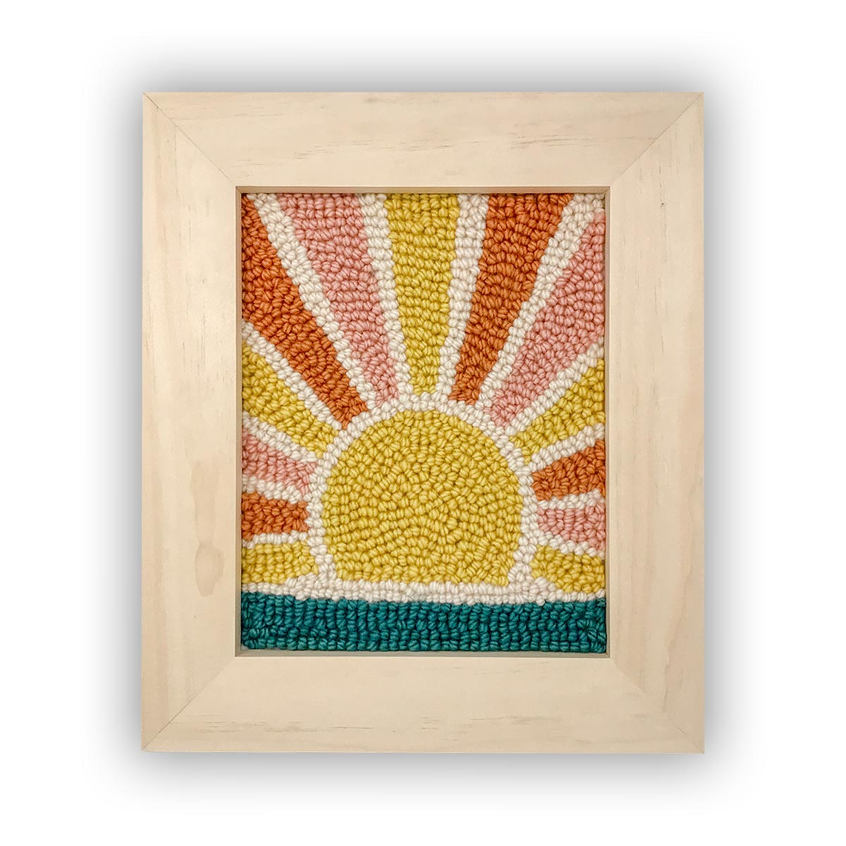 Sunrise Punch Needle Kit