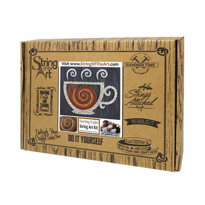 Swirling Coffee Kit - String of the Art