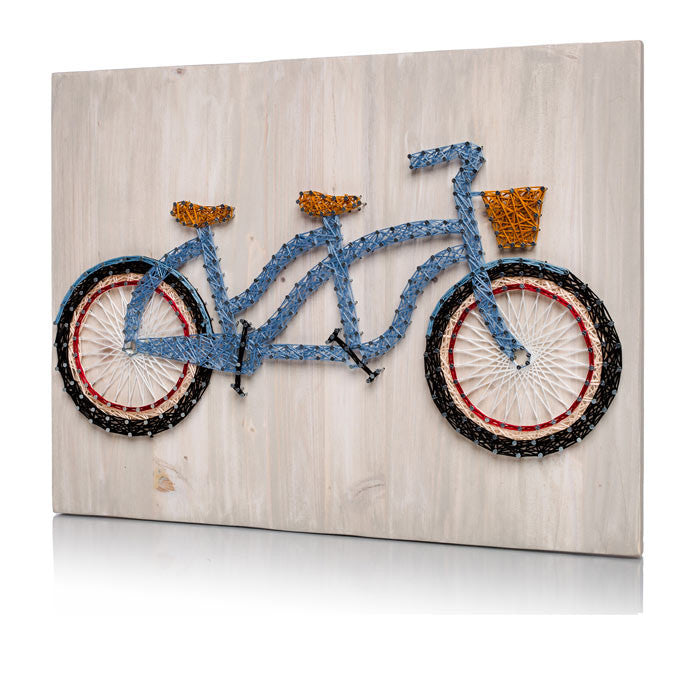 Tandem Bicycle String Art Kit - String of the Art