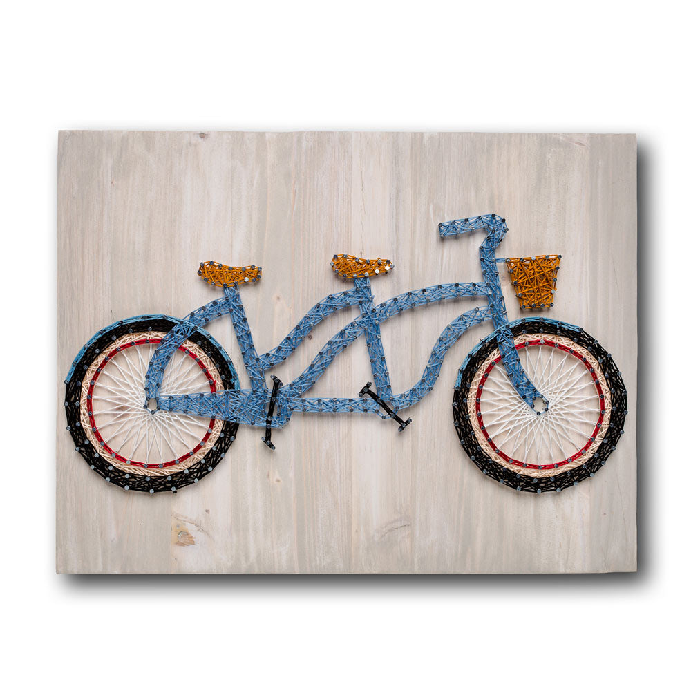Tandem Bicycle String Art Kit