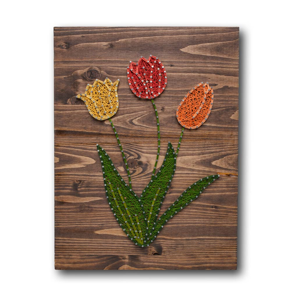 Tulips String Art Kit