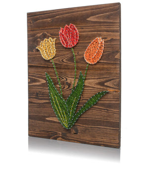 Tulips String Art Kit - String of the Art