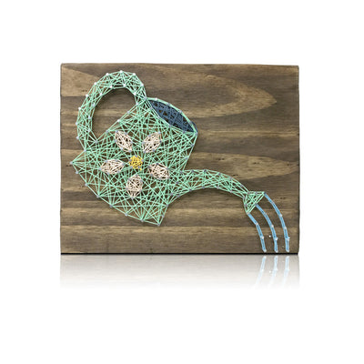 Watering Can Mini String Art Kit - String of the Art