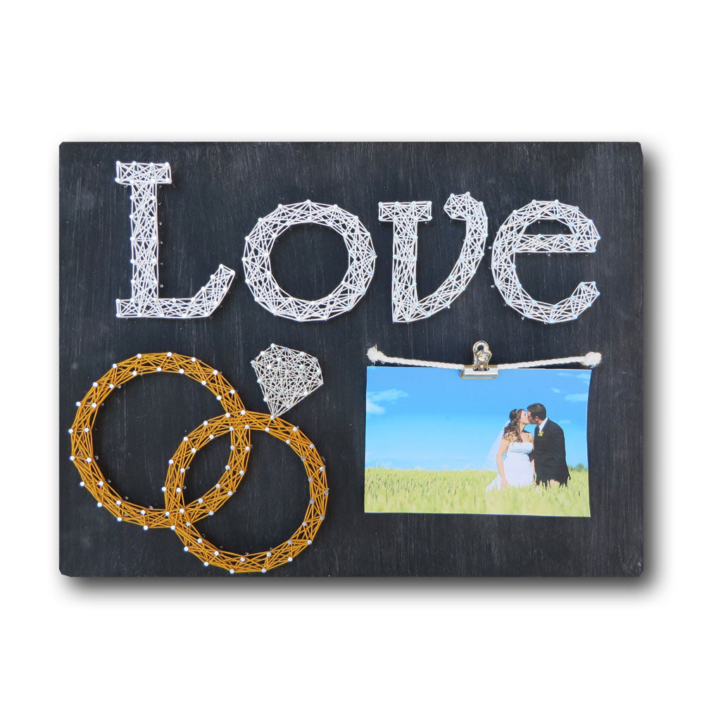 Wedding Rings Picture Frame Kit