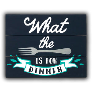 What the Fork is for Dinner Painting Kit