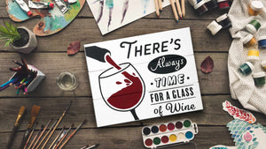 Wine Painting Kit