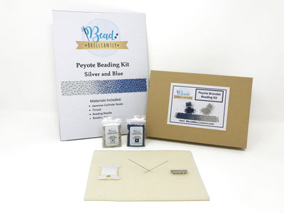 Blue to Silver Fade Beading Kit