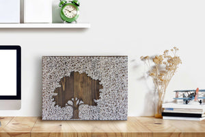 Inverse Oak Tree String Art Kit