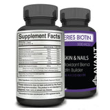 Pro Series Biotin by Avant rich antioxidant formula all natural for hair, skin, and nails