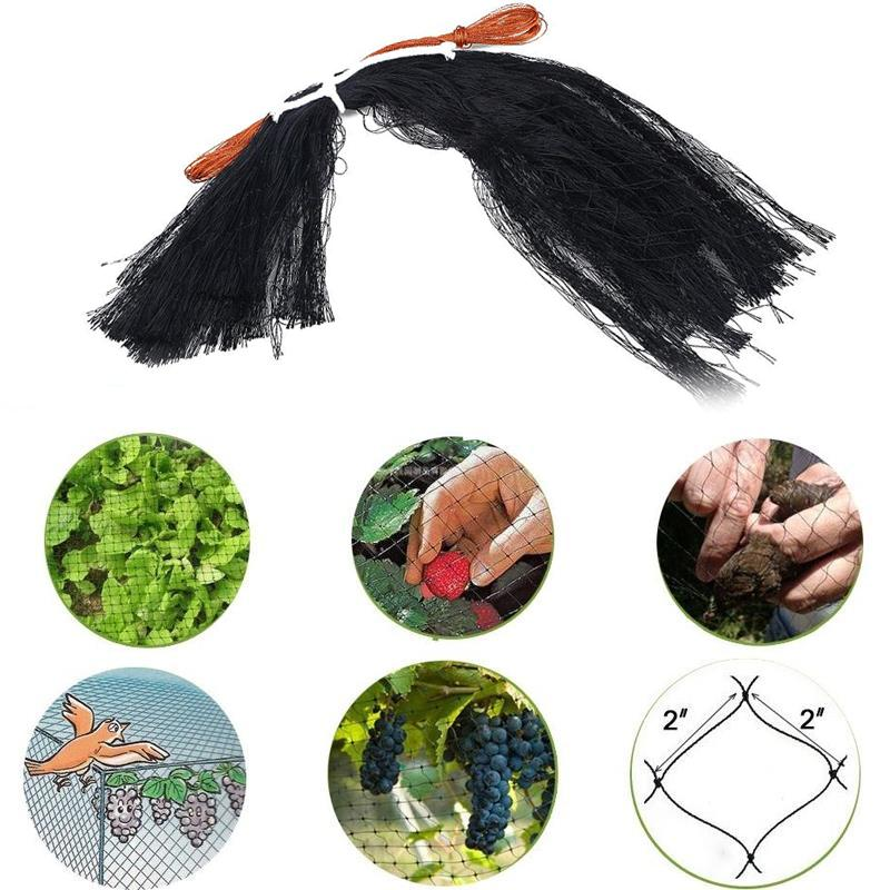 0.5x20M Hole Orchard Anti Snake Net Mice Bird Repeller Netting Knotted Mist Pest Control Trap Nets Garden Farmer Plants Support