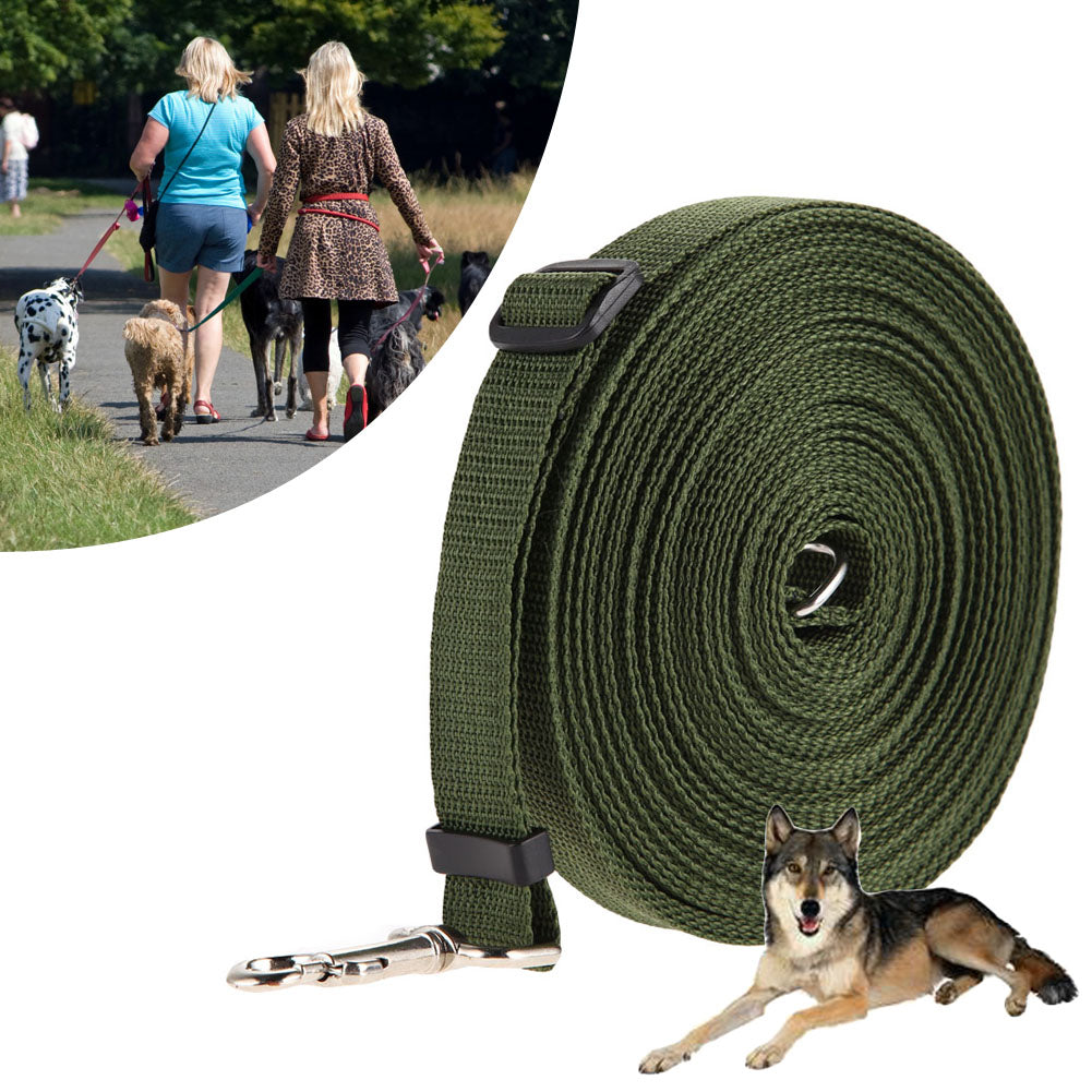 10m 15m 20m 30m 50m Adjustable Training Leash for Dogs Pets Puppy Nylon Long Rope Dog Strap Lead Leash Dog Harness Pet Supplies