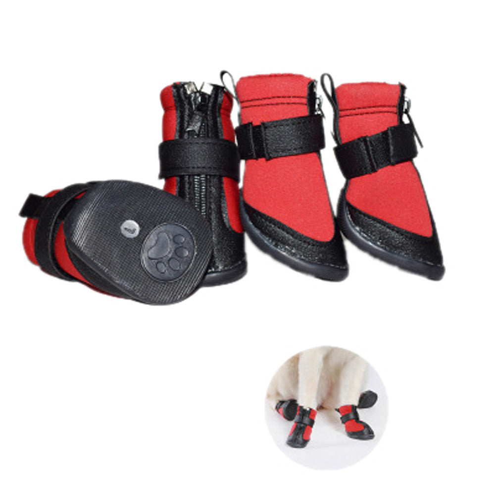 11.11 2017 XS/S/M/L/XL/XXL Waterproof Pet Shoes Anti Skid Dog Winter Boots For Small/Medium/Large Pet Universal BFOF