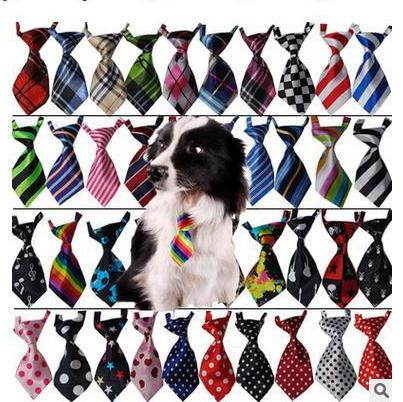 120pc/lot Big Sale colorful handmade Adjustable Pet Dog Ties Pet Bow Ties Cat Neck ties Dog Grooming Supplies 40 color Y146
