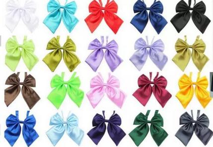 154pc/lot 2017 Factory Sale New arrival Colorful Pet Dog double Bow Ties Puppy Cat Neckties Dog Grooming Supplies Y180