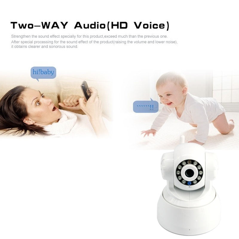 16GB Card+ip wifi wireless Camera  Home Security Indoor Phone Real-time View 720P baby/pet monitor