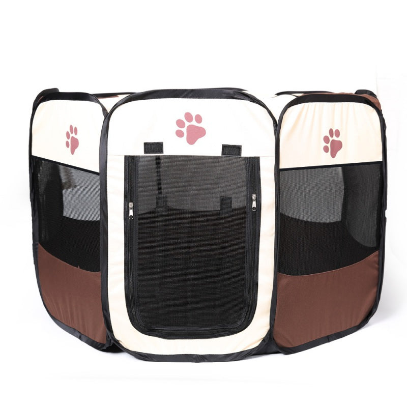 1PCS Portable Folding Pet Tent Dog House Cage Dog Cat Bed Tent Playpen Kennel Puppy Easy Operation  Supplies