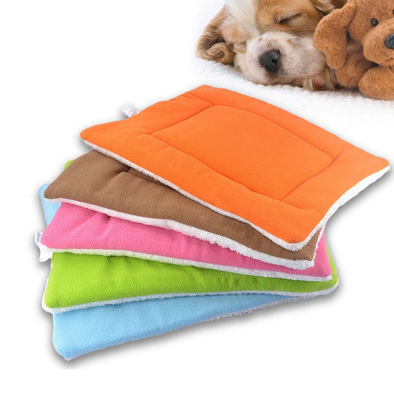 1Pc New Hot Selling! 3 Sizes Pet Dog Cat Air Conditioning Pad Pet Puppy Kitten cushion bed Colorful Dog House Pet Supplies 9Z