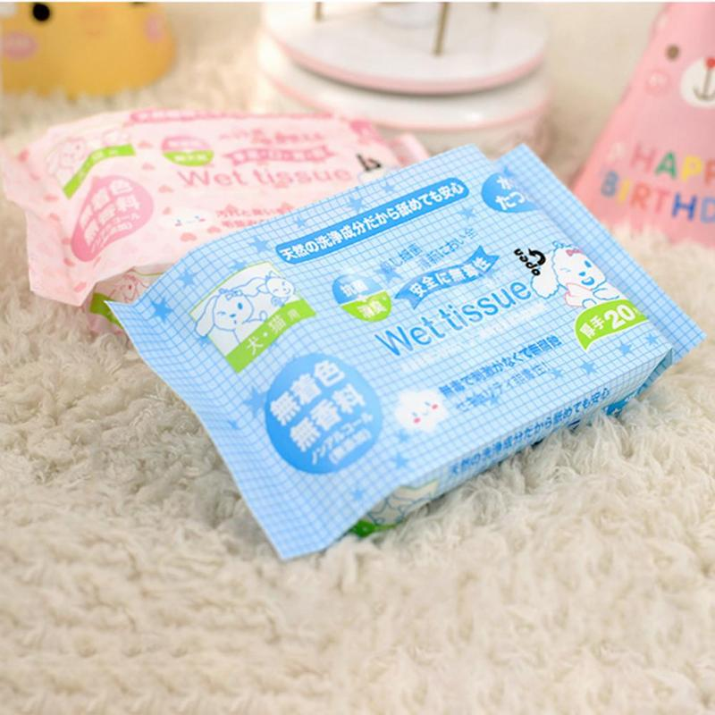 1Pc Pet Wet wipes Cat Grooming Supplies Dog cleaning wet tissues Grooming Supplies Cat Dog cleaning wet tissues A35