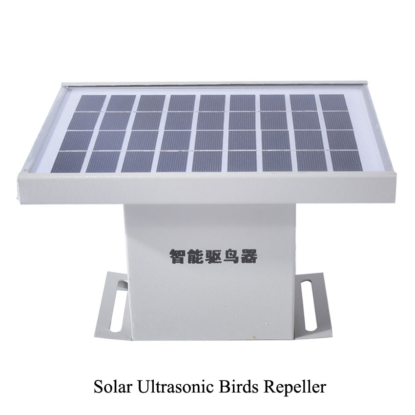 1pc  Airport garden farm solar Ultrasonic Bird Repeller anti-bird devices  fidelity  Intelligent ultrasonic