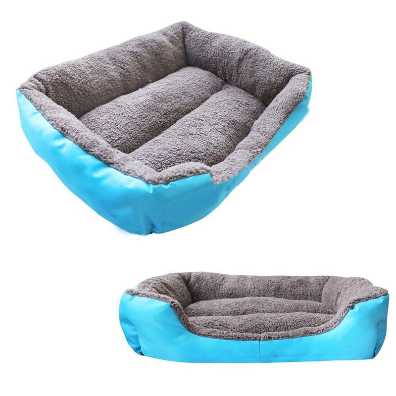1pc Candy Color Pet Dog Bed Warming Dog House Soft Material Pet Nest Dog Fall and Winter Warm Nest Kennel For Pets Free Shipping