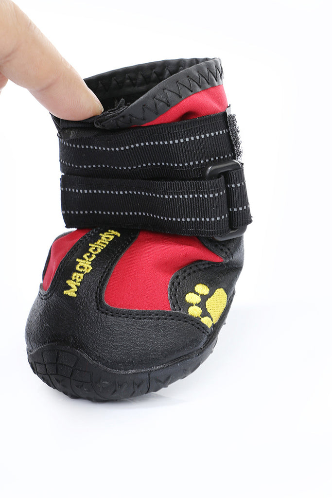 1set/lot Popular New Design Pet Shoes Outdoor Sport Shoes  Fashion Dogs Shoes for Large Dogs Pet Outdoor Waterpoof Boots
